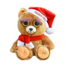 Забавная плюшевая игрушка, подарок на Рождество, день рождения, злой, забавная игрушка для детей