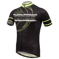 XINTOWN sport thermal underwear light yellow riding shirt summer bicycle short sleeved riding suit speed dry clothes