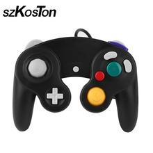 Wired Game Controller Joystick Professional Gaming Gamer Controller Simply JoyPad Gamepad For Wii For GameCube Consoles 4 Colors