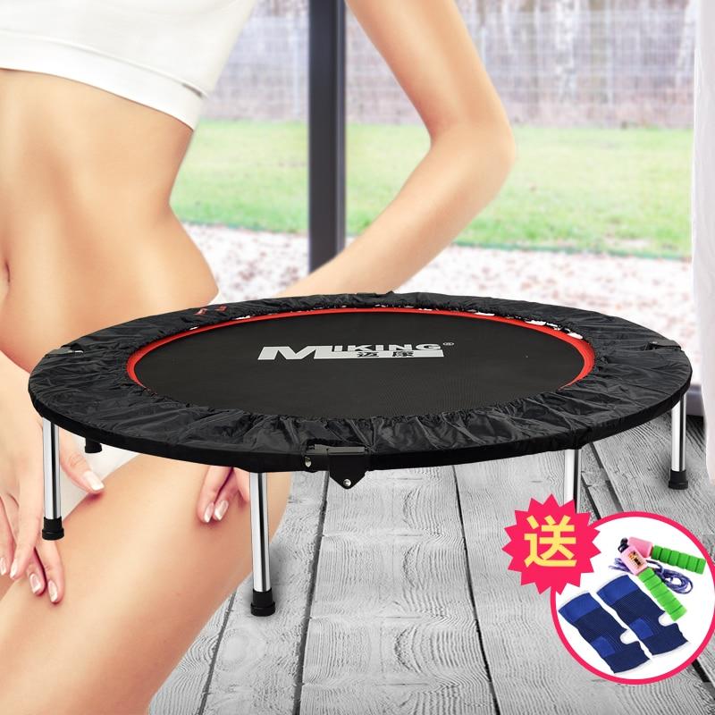 Trampoline Commercial intérieur sautant lit enfant augmenté adulte trampoline pliant ménage fitness trampoline