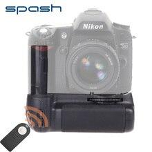 Spash Multi-puissance Vertical Batterie Grip pour Nikon D90 D80 Dslr Remplacement MB-D80 Travail avec EN-EL3e IR À Distance contrôle
