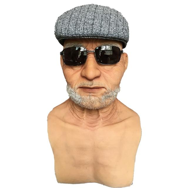 hyper realistic silicone mas old man halloween masks face mask fx masks human masks