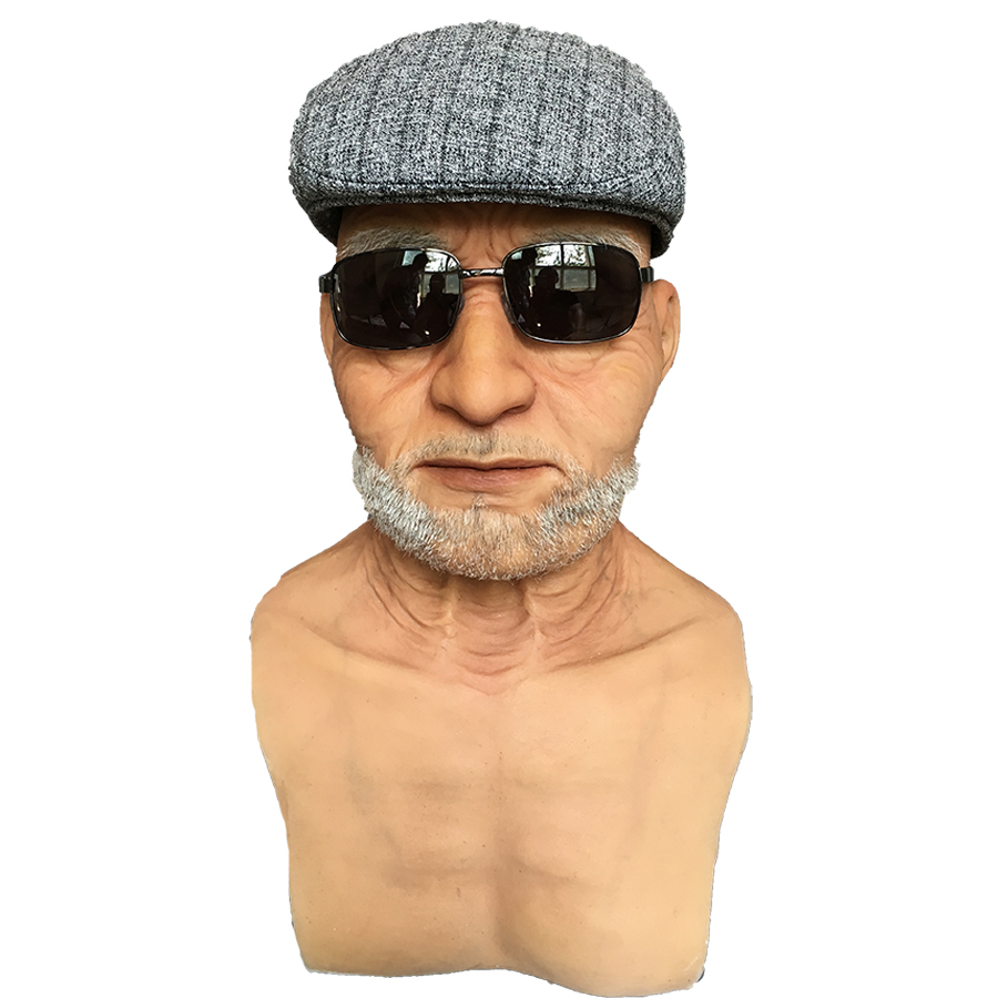 Popular Old Man Halloween Mask-Buy Cheap Old Man Halloween Mask ...