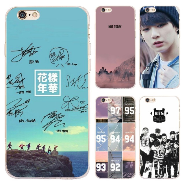 coque bts iphone 7