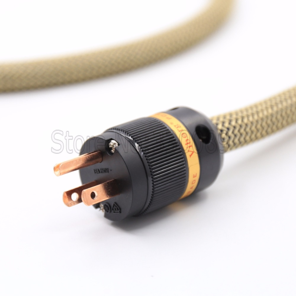 Siltech Spx 28 Pure Copper Silver Plated Cable Figure 8 C7 Iec Plug Wiring A Gold And Us Version Connector On Alibaba Group