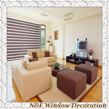 Window blinds zebra roller blinds shades for living room --- custom made color and size 100X100 free shipping