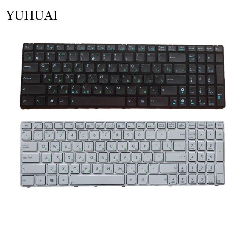 NOUVEAU Russe pour Asus K52 K52F K52J K52D K52JR K52DE K52JB K52JC K52JE K52N A72 A72D A72F A72J N50 N50V blanc et clavier noir