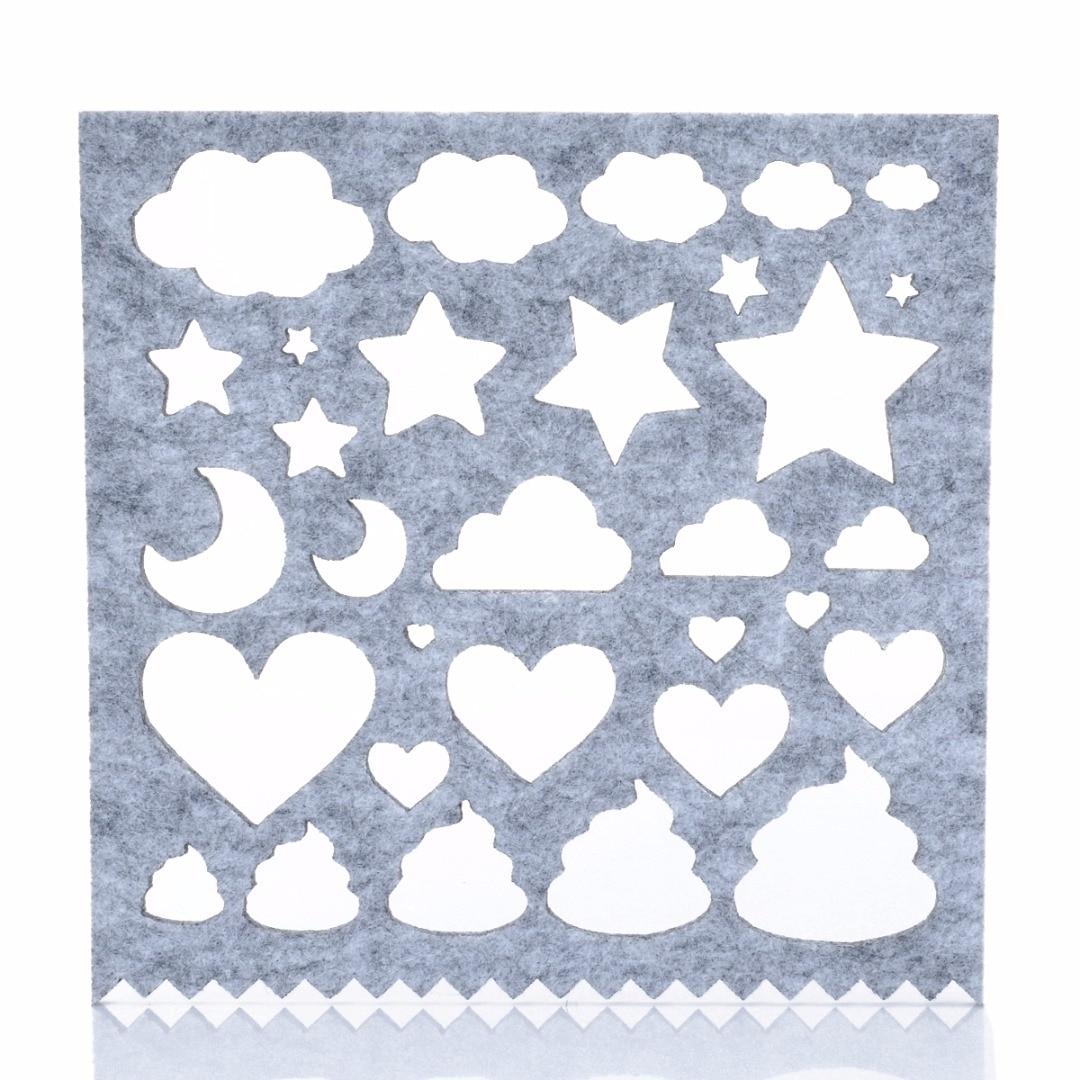 7pcs Needle Felting Applique Mold Handicraft Wool Felt Woolen Shaping Mold DIY Craft Sewing Accessories New Fashion 10