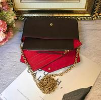 2019 WOXK Genuine Leather AAA new speedy bag fashion European and American retro envelopes chain ch simple hand single