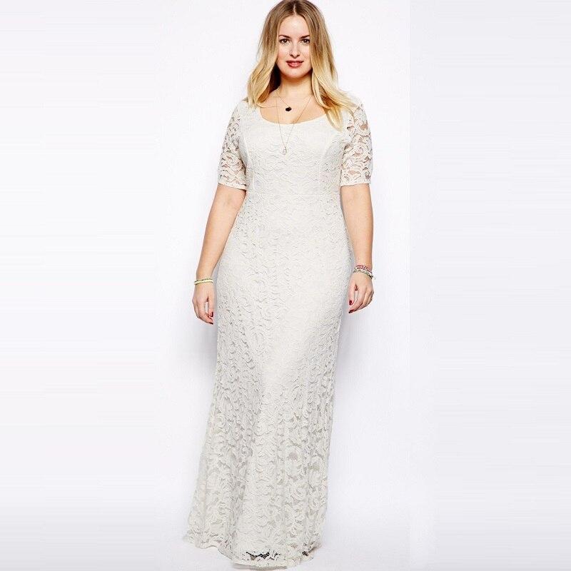 b0f1a19a7 Verano más el tamaño de las mujeres vestidos de encaje vestidos de  maternidad embarazada vestidos de las mujeres vestidos de partido 16172