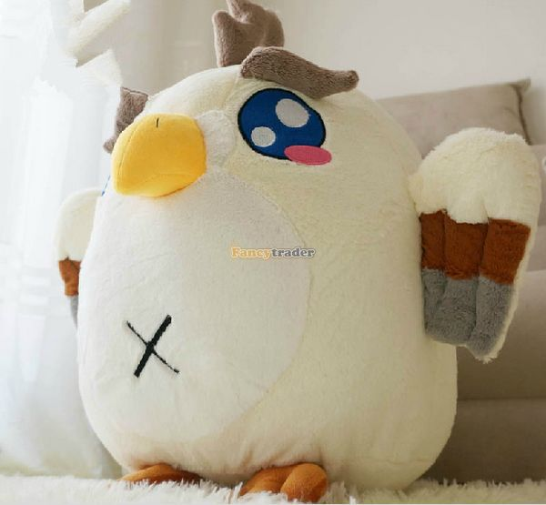 Fancytrader 2015 New 20'' / 50cm Lovely Stuffed Soft Plush Giant Cute Animal Eagle Toy, Great Gift, Free Shipping FT50750 fancytrader 2015 new 31 80cm giant stuffed plush lavender purple hippo toy nice gift for kids free shipping ft50367