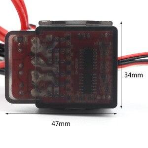 Image 5 - 1 pz giocattoli regolatore di velocità spazzolato ESC ad alta tensione 7.2V 16V 320A per RC Car Truck Buggy Boat