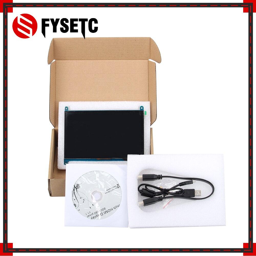 7 pouces Raspberry Pi 3 B + écran tactile 800*480 écran tactile capacitif LCD HDMI Interface TFT affichage + USB + CD