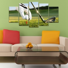 Golf Course Poster Art Prints Ball Wall Match Picture Artwork Canvas Painting for Living Room Decor Dropshipping