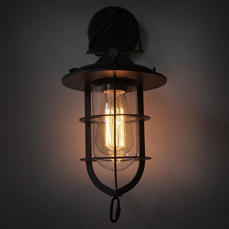 Loft Industrial Wall Lamps Vintage Wall Light for Bar Restaurant Wall 110V/220V Bedside Lighting wall lights for home light