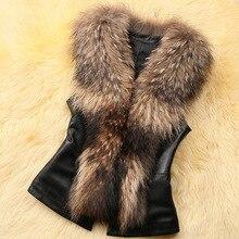 2016 spring and autumn winter new Korean female fox fur vest short paragraph waistcoat coat Specials