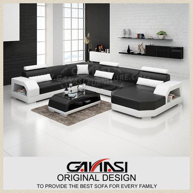 Indian Style Sofa Obejmuje Nowoczesna Kanapa Krzesło Drewniane W Kształcie Litery L Zestawy