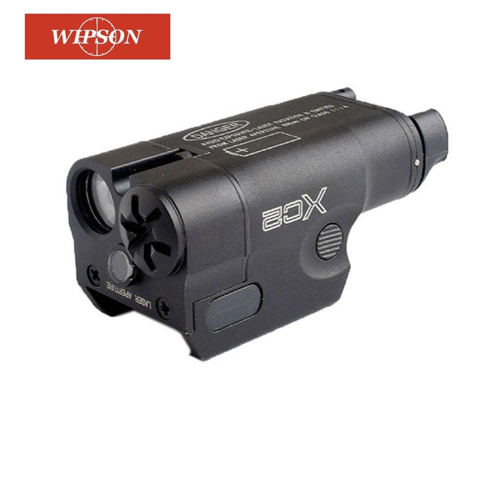 WIPSON XC2 超コンパクトピストルライトレッドドットレーザー懐中電灯 LED ミニホワイトライト 200 ルーメン狩猟エアガン