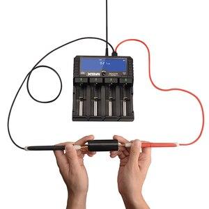 Image 3 - Orijinal XTAR EJDERHA VP4 ARTı akıllı pil şarj cihazı Kılıfı ile Set Probları Adaptörü ve araba şarjı için 18650 ve Pil Paketi