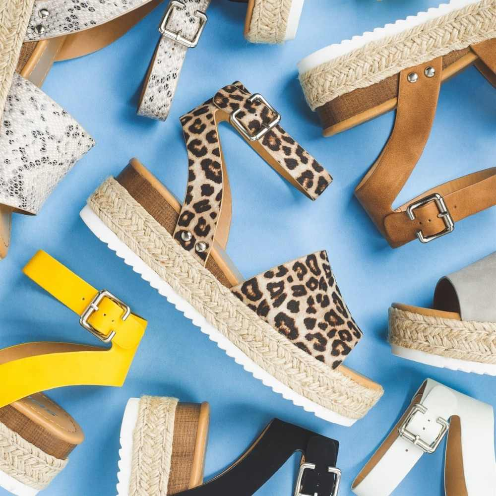 Kadın Sandalet Artı Boyutu Takozlar Ayakkabı Kadınlar Için Yüksek Topuklu Sandalet Yaz Ayakkabı 2019 Flip Flop Chaussures Femme platform sandaletler