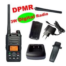 DPMR Профессиональный 3 Вт цифровой Радио RS309D Портативная рация 256 Каналы Clear Voice ЖК-дисплей Дисплей Профессиональный Радио трансивер