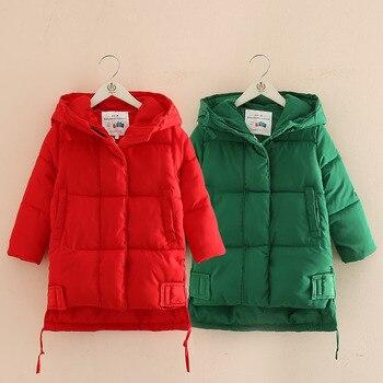 ebd04ed112b8 Product Offer. Модная хлопковая стеганая куртка с капюшоном для малышей  коллекция 2018 года, новая зимняя детская одежда для девочек ...