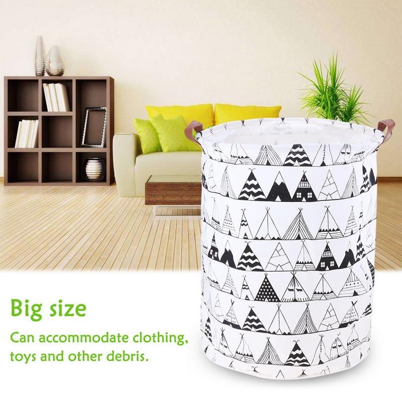 Cesta de lavandería cesta grande para lavar juguetes cesta ropa sucia varios cestas de almacenamiento caja 40x50 cm