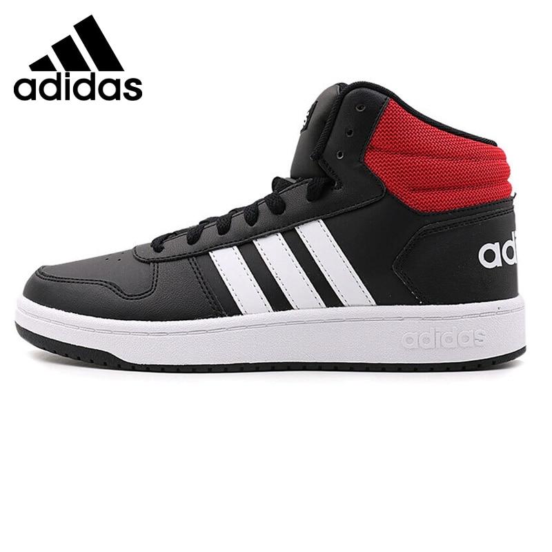Original New Arrival 2018 Adidas HOOPS 2.0 MID Men's Basketball Shoes Sneakers original li ning men professional basketball shoes