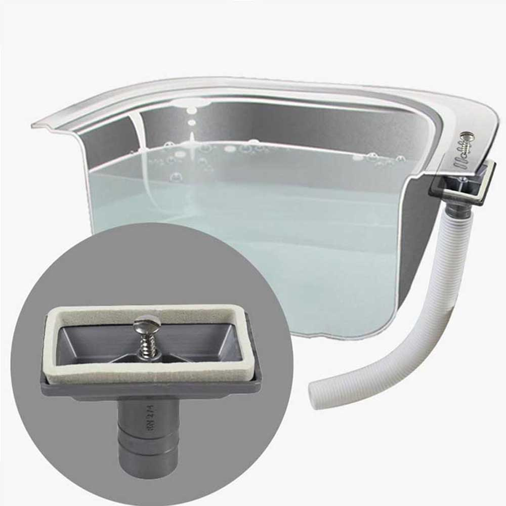 Talea No Leakage Sink Accessories Rectangular Upside Overflow Joint Kitchen Sink Overflow Head With Spill Hose Qy027c001 Kitchen Drains Strainers Aliexpress