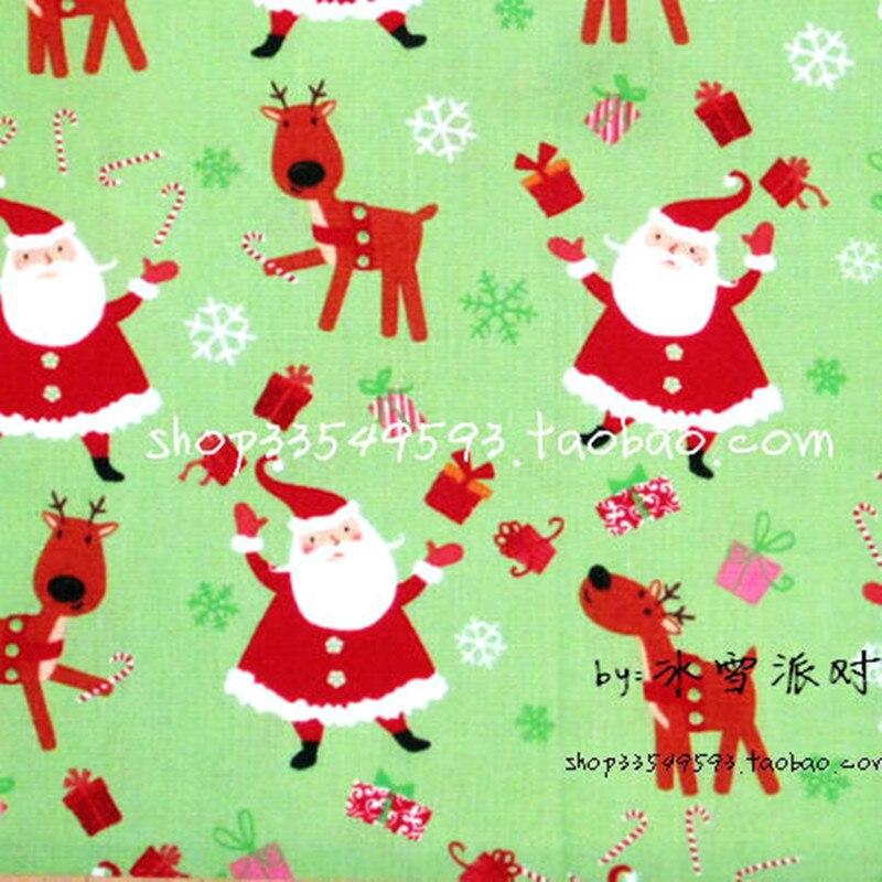 Telas de dibujos animados 100*110 cm telas de algodón para coser tela del remien