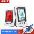 1 pces UNI-T a37 digital detector de dióxido carbono laser qualidade do ar monitoramento testador detecção co2 400 55000ppm para casa & bateria