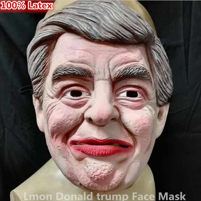 US President Candidate Hillary Clinton Latex Mask For Fans All Party Famous Lawyers Politicians Hillary Diane