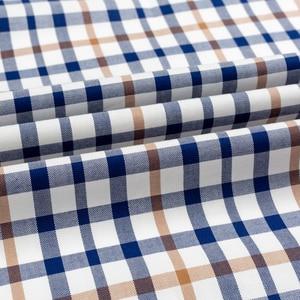 Image 5 - 남성용 발랄한 활력 캐주얼 버튼 다운 체크 무늬 셔츠 싱글 패치 포켓 긴 소매 편안한 스탠다드 피트 코튼 셔츠