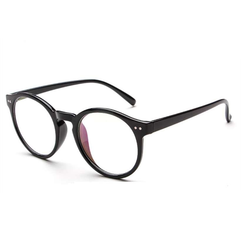 glasses frame new retro fashion literary small fresh round glasses frame luxury for men and women