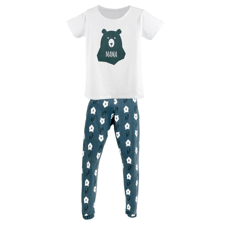 Рождество пижамный комплект Семейные комплекты пижамы ночное белье для детей мама папа ночное Новое поступление 2017 года Горячие семейная О...