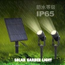 4000mA solar light working lamp garden floodlight with senso
