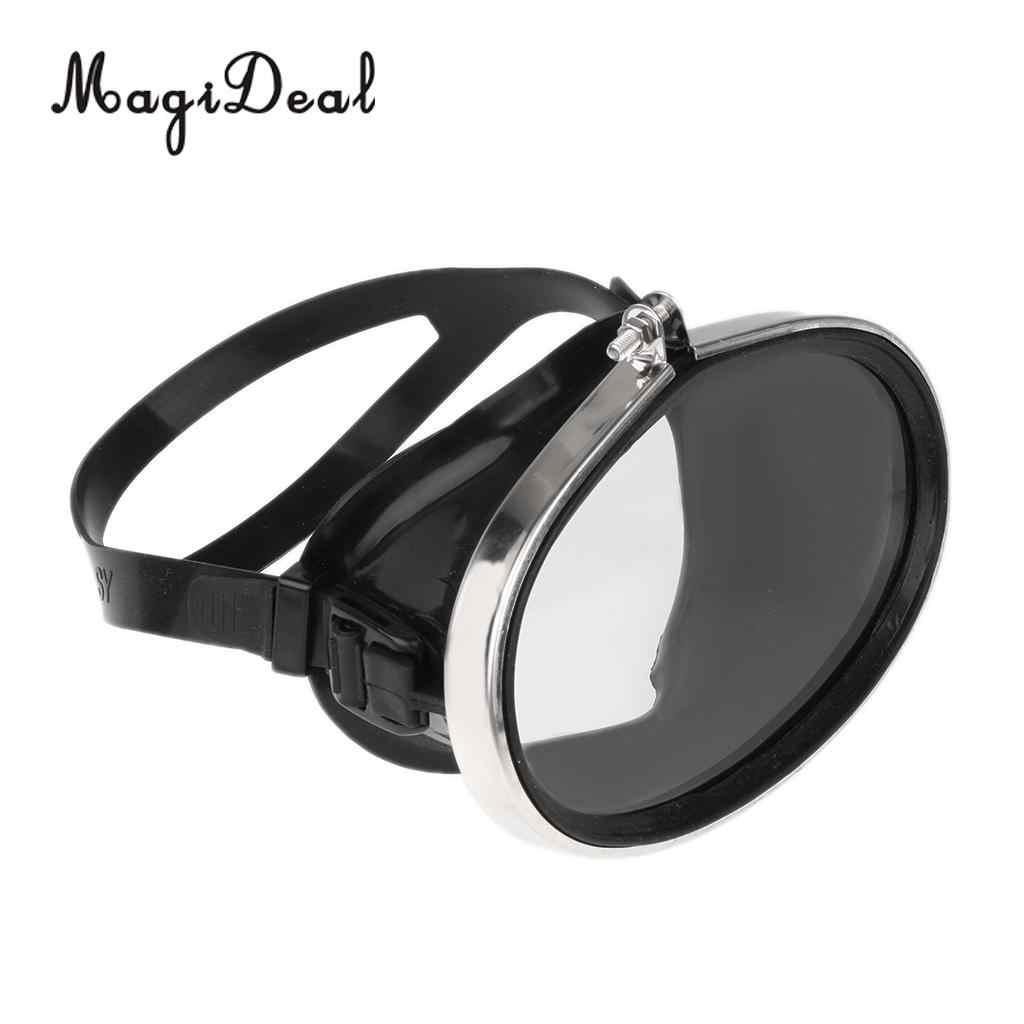MagiDeal Aqualung Sphera buceo máscara de buceo pesca submarina, buceo apnea Goggle