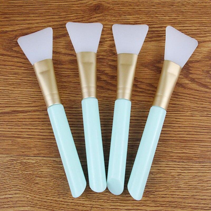 1pc Facial Mask Brush Silicone Mud Brush DIY Mask Skin Care Essential Silica Gel Brush Cosmetic Makeup Tools pincel maquiagem dr sea hair mask mud