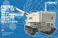 Meng TS-024 1/35 escala AUF1 TA 155 mm auto propulsão Howitzer
