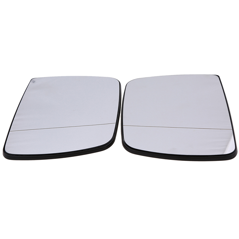 Right Flat Mirror Glass Replacement Heated Fit Land Rover Range Rover MK III