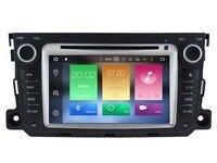 Android 8.0 Car Audio DVD плеер для Mercedes-Benz Smart (2010-2014) GPS мультимедийного головного устройства приемник BT WI-FI