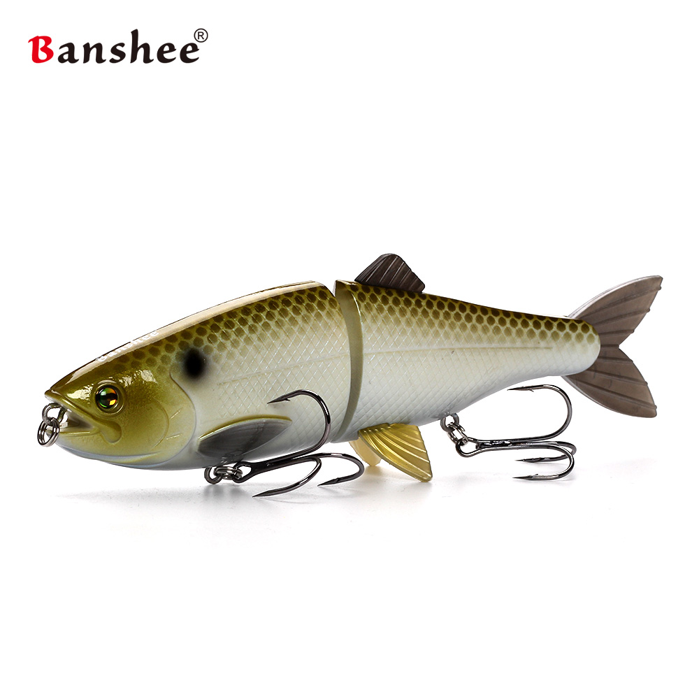 Single jointed swimbait AT01 200mm 90g Fishing Lures 2 sections lifelike Artificial Hard Bait Sinking Fishing Tackle lure trout