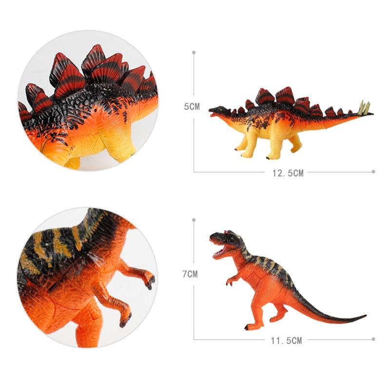 Jurassic Park dinosaurio juguete Estegosaurio Tyrannosaurus dragón ...