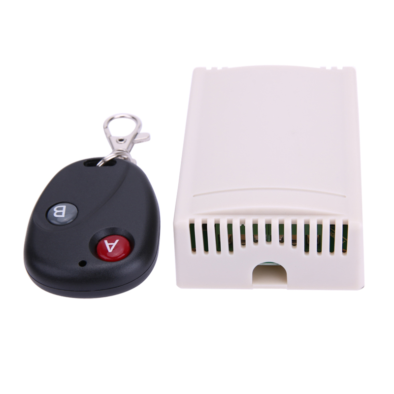 12V 2-CH Remote Controls 2CH Universal Wireless 433MHz Remote Control Switch With Remote ...