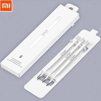 Original Xiaomi Mijia 0.5MM Metal Sign Pen Stylus Black Refill Relacement refill Smooth Switzerland MiKuni Japan Ink 3pcs Network Switches