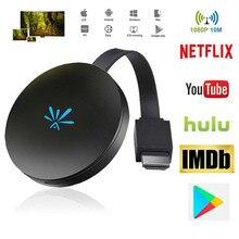 SOONHUA G6 tv Stick 2,4 ГГц видео WiFi дисплей HD экран зеркальное ТВ Беспроводной приемник Google с HDMI для Chromecast 2