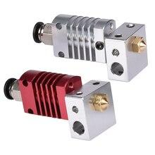 3D printer All Metal J-head hotend remote extruder Kit CR8/CR10 For 3D V6 1.75/3.0MM Bowden Extruder 0.4 Nozzle 3D Printer Par