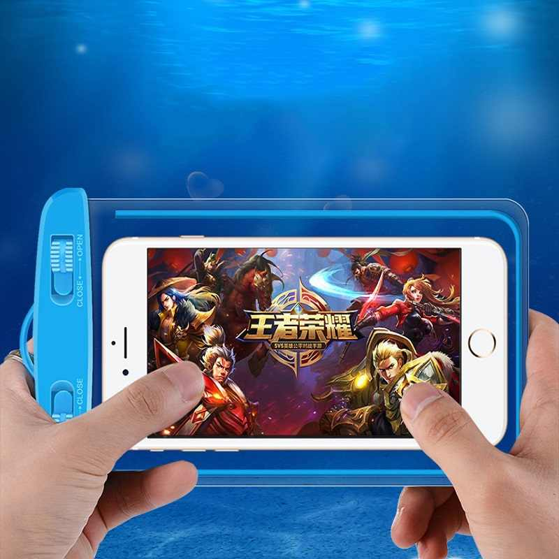 Universal Waterproof Case For iPhone X XS MAX 8 7 6 s 5 Plus Cover Pouch Bag Cases For Phone Coque Water proof Phone Case