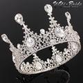 Rhinestone Bridal Tiara Crown Hair Accessories Wedding Tiara Crystal Bridal Pageant Prom Hair Piece Jewelry Ornaments