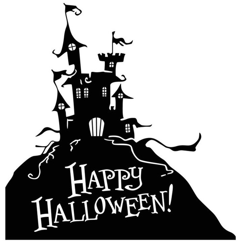 Happy Halloween Black And White Online Buy Wholesale g...